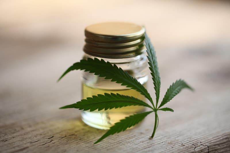 Canva cannabis cbd product oil