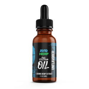 CBDOil Unflavored 1500mg AvidHemp