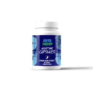 CBD Nighttime Capsules 1,000mg avid hemp