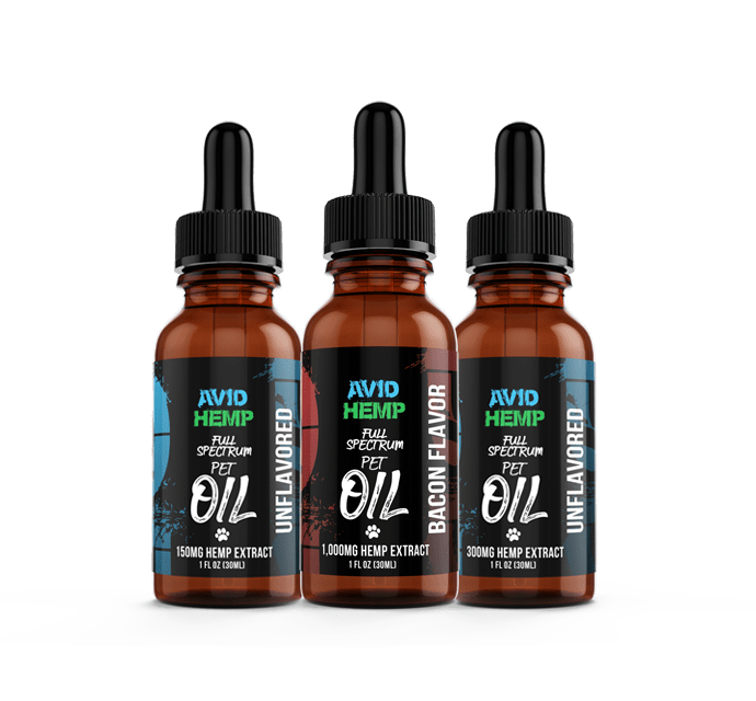CBDpets oil avidhemp